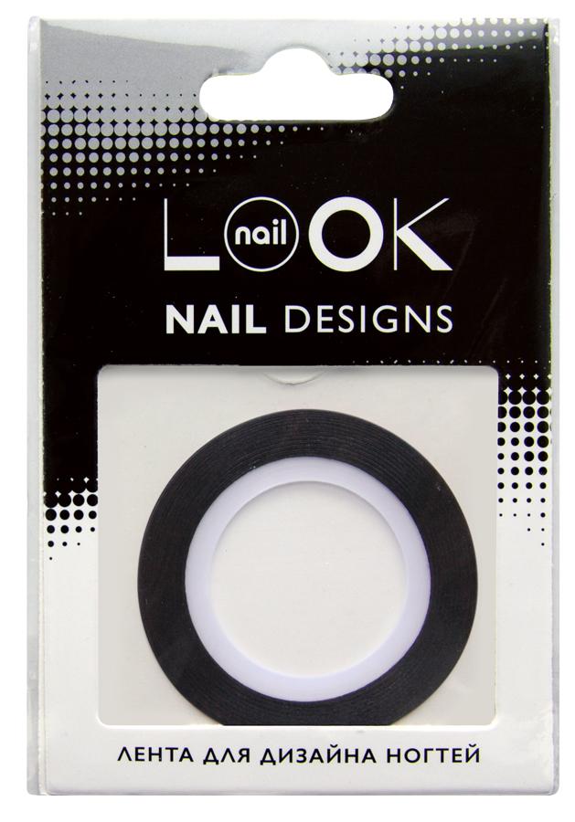 nailLOOK Лента для дизайна ногтей Stripping tape50222Striping tape Лента для дизайна ногтей, черный. Лента - очень простой в использовании материал для создания эффектных и неповторимых дизайнов. Ленту можно использовать двумя способами,как декоративный элемент дизайна, идеально сочетается с эмалевыми лаками или в качестве вспомогательного материала для создания дизайна с геометрическими рисунками. Нанесите цветной лак.Дайте высохнуть. Приклейте ленту на ноготь. Нанесите лак поверх ленты. Аккуратно удалите ленту пока лак не высох. Нанесите топовое покрытие.