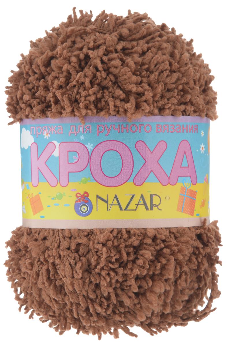 Пряжа для вязания детская Nazar Кроха, цвет: коричневый (2756), 75 м, 50 г, 10 шт349017_2756 коричневыйNazar Кроха - это фантастически мягкая пряжа, изготовленная из 100% микрополиэстера. Такая пряжа идеально подойдет для изготовления игрушек или детской одежды. Изделия практичны в носке и уходе. Рекомендуется вязать спицами платочной или чулочной вязкой (кулинарная гладь). Комплектация: 10 мотков. Состав: 100% микрополиэстер.