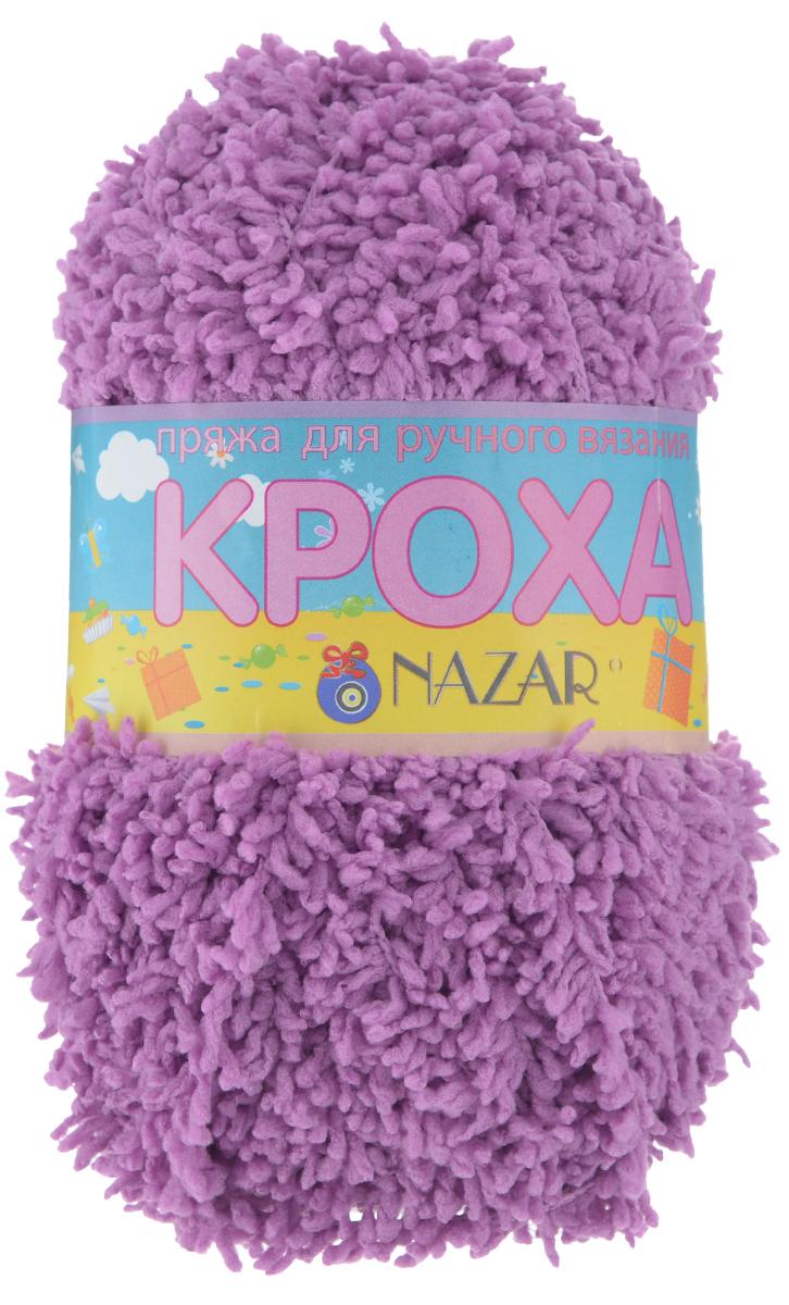 Пряжа для вязания детская Nazar Кроха, цвет: сиреневый (2629), 75 м, 50 г, 10 шт349017_2629 сиреньNazar Кроха - это фантастически мягкая пряжа, изготовленная из 100% микрополиэстера. Такая пряжа идеально подойдет для изготовления игрушек или детской одежды. Изделия практичны в носке и уходе. Рекомендуется вязать спицами платочной или чулочной вязкой (кулинарная гладь). Комплектация: 10 мотков. Состав: 100% микрополиэстер.