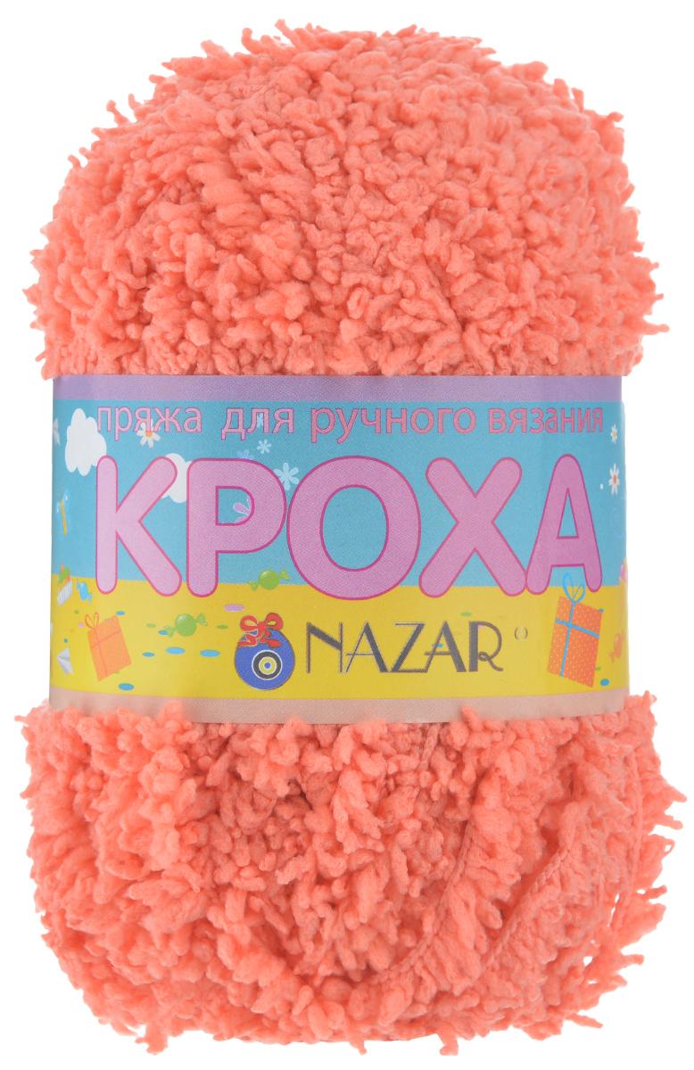 Пряжа для вязания детская Nazar Кроха, цвет: светло-коралловый (2693), 75 м, 50 г, 10 шт349017_2693 св.кораллNazar Кроха - это фантастически мягкая пряжа, изготовленная из 100% микрополиэстера. Такая пряжа идеально подойдет для изготовления игрушек или детской одежды. Изделия практичны в носке и уходе. Рекомендуется вязать спицами платочной или чулочной вязкой (кулинарная гладь). Комплектация: 10 мотков. Состав: 100% микрополиэстер.