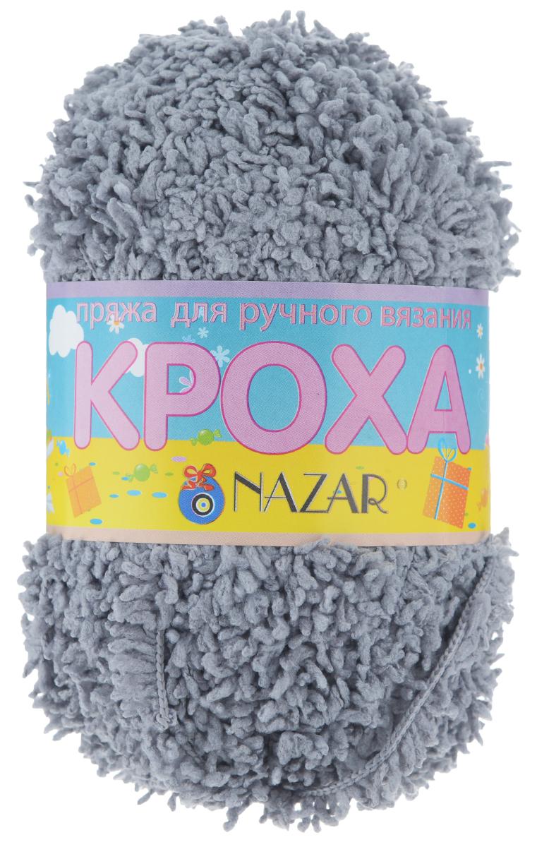 Пряжа для вязания детская Nazar Кроха, цвет: серый (2765), 75 м, 50 г, 10 шт349017_2765 серыйNazar Кроха - это фантастически мягкая пряжа, изготовленная из 100% микрополиэстера. Такая пряжа идеально подойдет для изготовления игрушек или детской одежды. Изделия практичны в носке и уходе. Рекомендуется вязать спицами платочной или чулочной вязкой (кулинарная гладь). Комплектация: 10 мотков. Состав: 100% микрополиэстер.