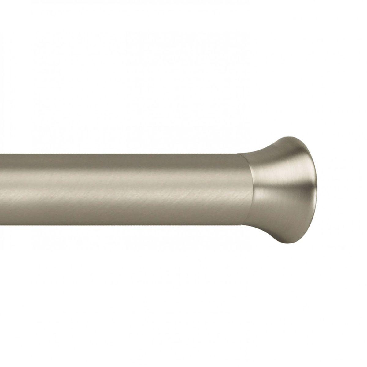 Карниз Umbra Chroma (137-229 см) никель. 244925-410244925-410Необычное решение для драпировки окон: карниз Chroma крепится внутри оконной рамы и использует это давление для того, чтобы держать ваши шторы - поэтому не понадобится креплений, гвоздей и сверления! Телескопическая конструкция позволяет регулировать длину. Диаметр 2,2 см.