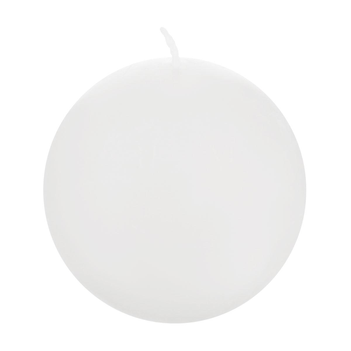 Свеча декоративная Proffi Шар, цвет: белый, диаметр 7,5 смPH3450Шарообразная декоративная свеча Proffi Шар изготовлена из парафина, стеарина. Предназначена для освещения и украшения помещений. Такая свеча может стать отличным подарком или дополнить интерьер вашей спальни или гостиной.