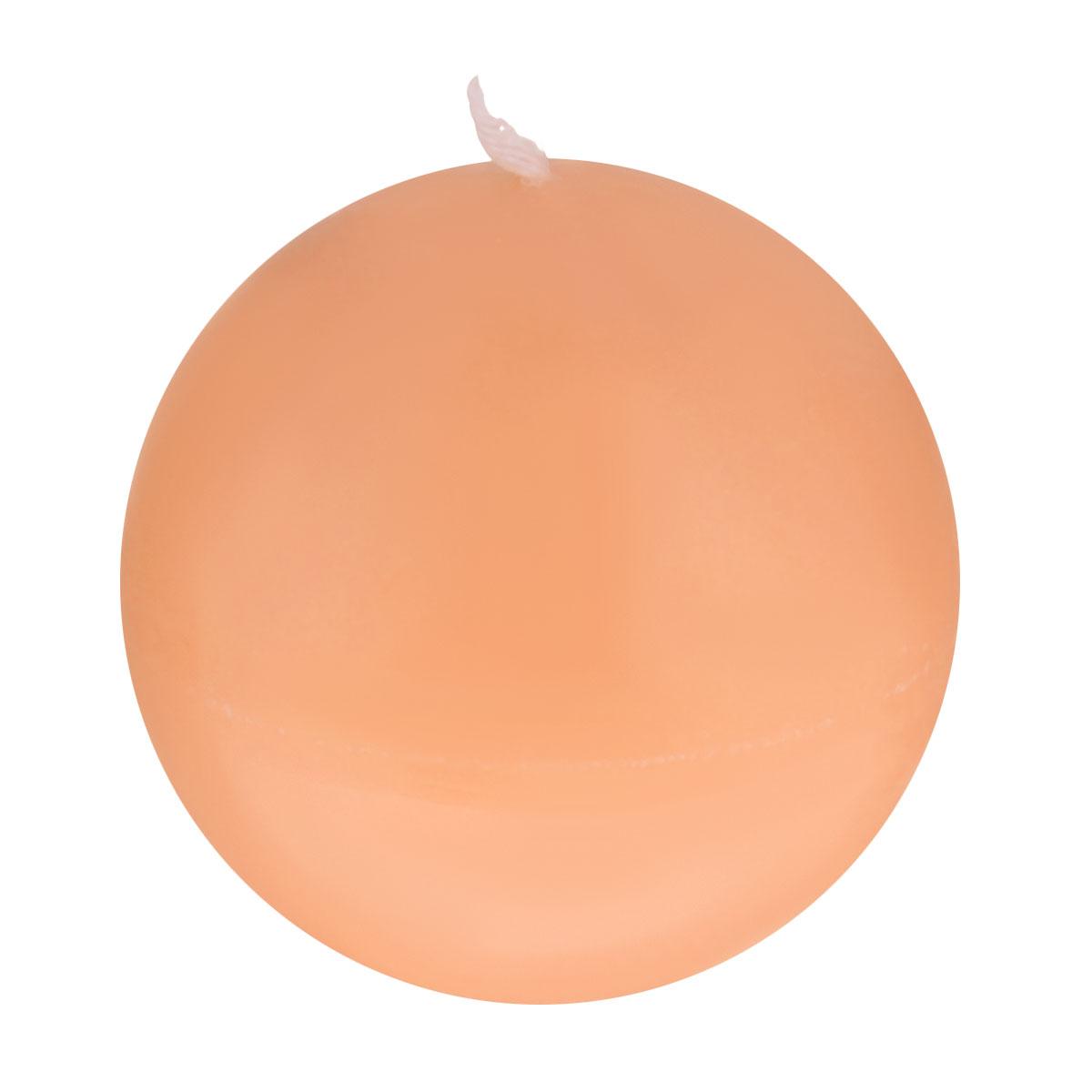 Свеча декоративная Proffi Шар, цвет: оранжевый, диаметр 7,5 смPH3455Шарообразная декоративная свеча Proffi Шар изготовлена из парафина, стеарина. Предназначена для освещения и украшения помещений. Такая свеча может стать отличным подарком или дополнить интерьер вашей спальни или гостиной.