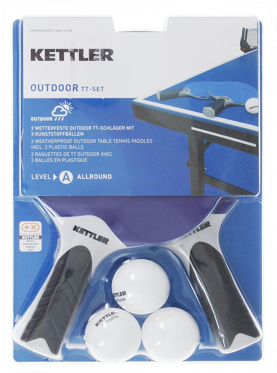 """Набор для настольного тенниса Kettler """"Play"""", 5 предметов"""