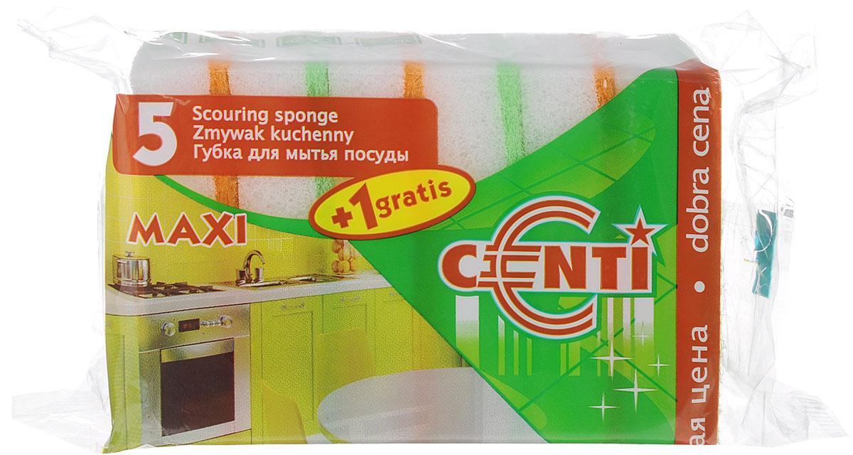 Губки для мытья посуды York Центи, 6 шт3013Губки для мытья посуды York Центи, выполненные из сложных полимеров, эффективно удаляют даже сильные загрязнения, а также жир. Они отлично впитывают воду и хорошо пенятся. Губки York Центи сохраняют чистоту и свежесть даже после многократного применения. Размер губки: 9 см х 6,5 см х 2,5 см.
