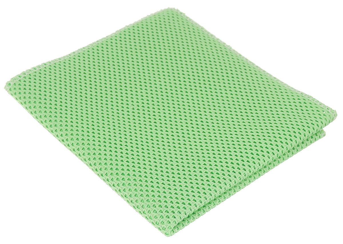 Салфетка для уборки Eva, сетчатая, цвет: салатовый, 30 х 35 смЕ71_салатовыйСетчатая салфетка Eva, изготовленная из полиамида и полиэстера, предназначена для очищения загрязнений на любых поверхностях. Изделие обладает высокой износоустойчивостью и рассчитано на многократное использование, легко моется в теплой воде с мягкими чистящими средствами. Супервпитывающая салфетка не оставляет разводов и ворсинок, удаляет большинство жирных и маслянистых загрязнений без использования химических средств.
