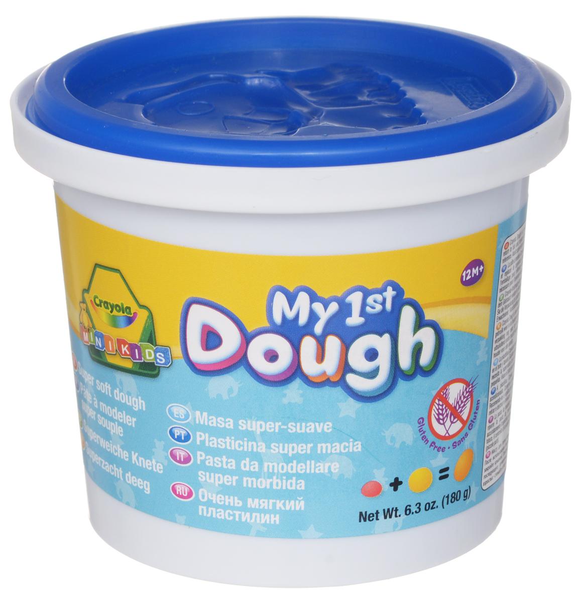 Crayola Масса для лепки My 1st Dough Собачка цвет синий