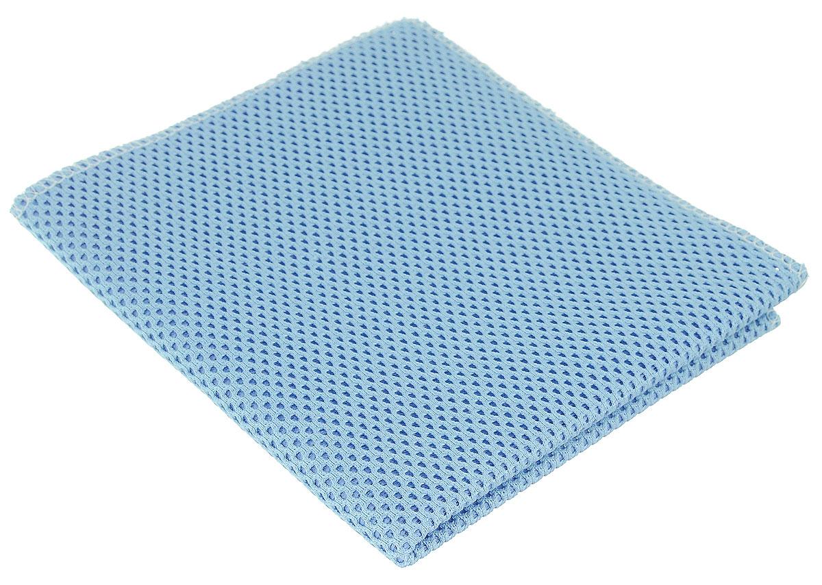 Салфетка для уборки Eva, сетчатая, цвет: голубой, 30 см х 35 смЕ71_голубойСетчатая салфетка Eva, изготовленная из полиамида и полиэстера, предназначена для очищения загрязнений на любых поверхностях. Изделие обладает высокой износоустойчивостью и рассчитано на многократное использование, легко моется в теплой воде с мягкими чистящими средствами. Супервпитывающая салфетка не оставляет разводов и ворсинок, удаляет большинство жирных и маслянистых загрязнений без использования химических средств.