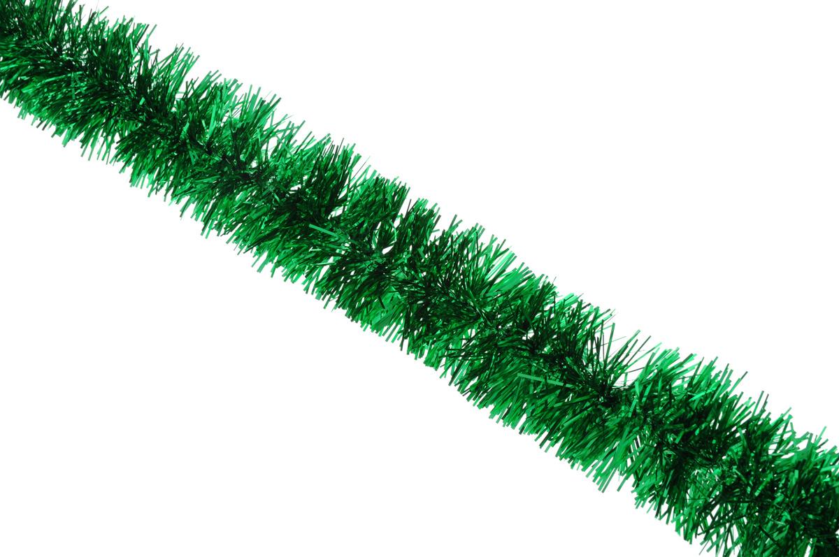 Мишура новогодняя Sima-land, цвет: зеленый, диаметр 6,5 см, длина 140 см627195_зеленыйНовогодняя мишура Sima-land, выполненная из фольги, поможет вам украсить свой дом к предстоящим праздникам. А новогодняя елка с таким украшением станет еще наряднее. Мишура армирована, то есть имеет проволоку внутри и способна сохранять приданную ей форму. Новогодней мишурой можно украсить все, что угодно - елку, квартиру, дачу, офис - как внутри, так и снаружи. Можно сложить новогодние поздравления, буквы и цифры, мишурой можно украсить и дополнить гирлянды, можно выделить дверные колонны, оплести дверные проемы. Коллекция декоративных украшений принесет в ваш дом ни с чем несравнимое ощущение праздника! Создайте в своем доме атмосферу тепла, веселья и радости, украшая его всей семьей.