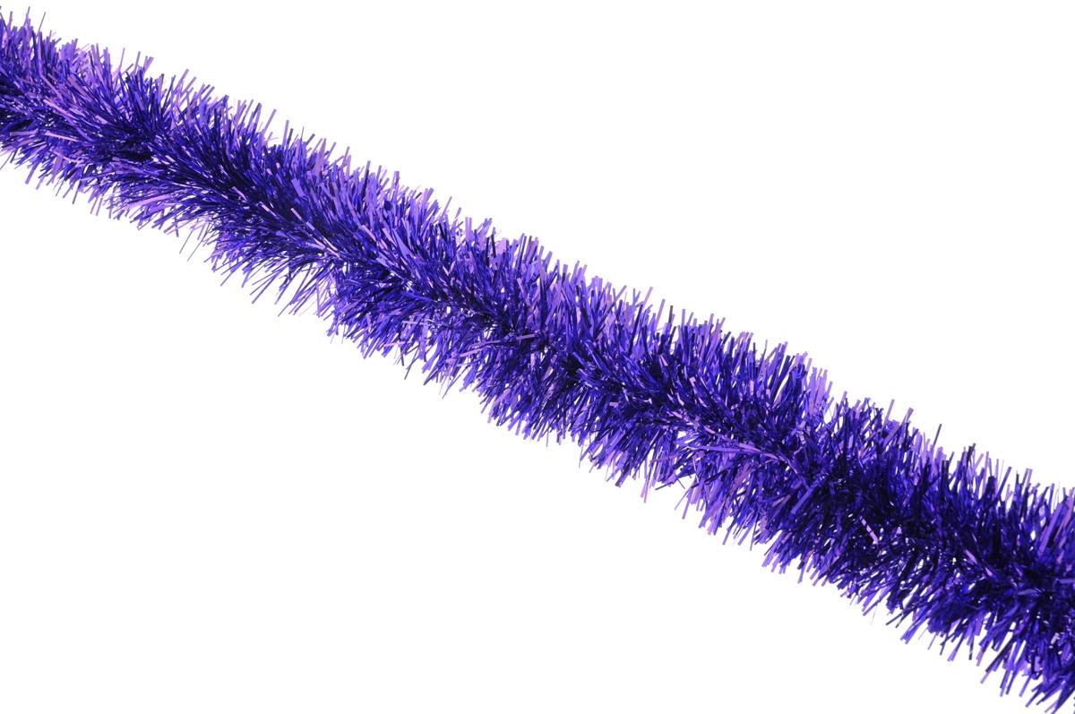 Мишура новогодняя Sima-land, цвет: фиолетовый, диаметр 6,5 см, длина 140 см627195_фиолетовыйНовогодняя мишура Sima-land, выполненная из фольги, поможет вам украсить свой дом к предстоящим праздникам. А новогодняя елка с таким украшением станет еще наряднее. Мишура армирована, то есть имеет проволоку внутри и способна сохранять приданную ей форму. Новогодней мишурой можно украсить все, что угодно - елку, квартиру, дачу, офис - как внутри, так и снаружи. Можно сложить новогодние поздравления, буквы и цифры, мишурой можно украсить и дополнить гирлянды, можно выделить дверные колонны, оплести дверные проемы. Коллекция декоративных украшений принесет в ваш дом ни с чем несравнимое ощущение праздника! Создайте в своем доме атмосферу тепла, веселья и радости, украшая его всей семьей.
