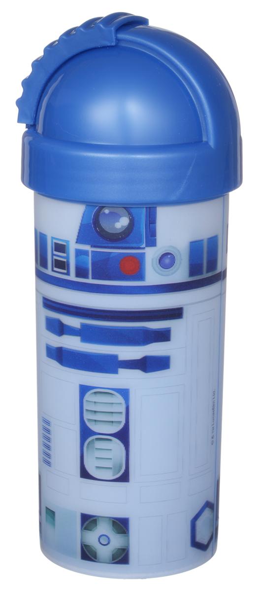 Star Wars Стакан детский с крышкой и трубочкой R2D2 400 млSWF400-02Детский стакан Star Wars R2D2 станет отличным подарком для любого фаната знаменитой саги. Он выполнен из полипропилена и оформлен 3D-рисунком с изображением дроида R2D2. Стакан имеет съемную крышку с отодвигающейся заслонкой, под которой расположена трубочка для удобства питья. Объем стакана: 400 мл. Не подходит для использования в посудомоечной машине и СВЧ-печи.