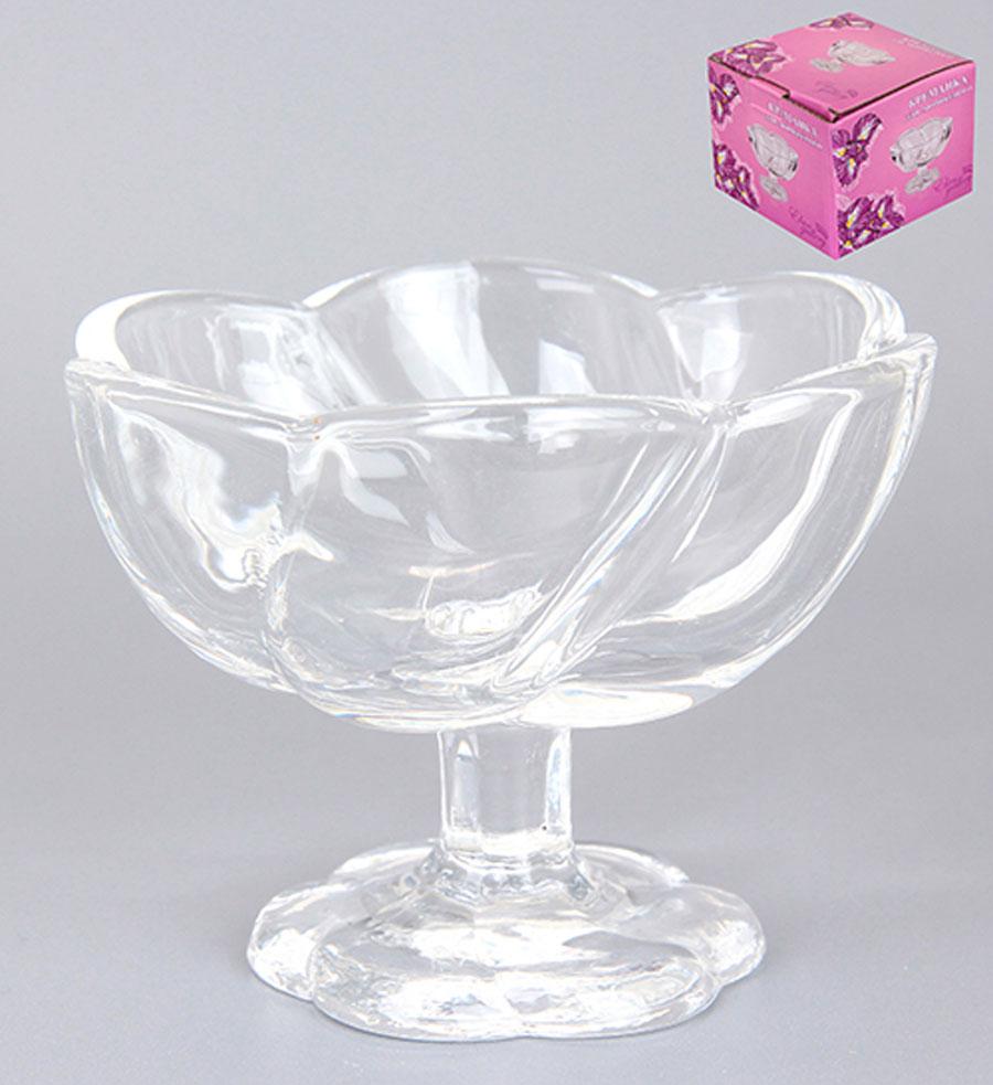 Креманка для мороженого Elan Gallery Волна, диаметр 9 см890053Креманка для мороженого Elan Gallery Волна, изготовленная из прочного стекла, оформлена в классическом стиле. Изделие прекрасно подходит для подачи мороженого и десертов. Креманка для мороженого Elan Gallery Волна станет желанным подарком для ваших близких! Диаметр креманки (по верхнему краю): 9 см. Высота креманки: 6,8 см.
