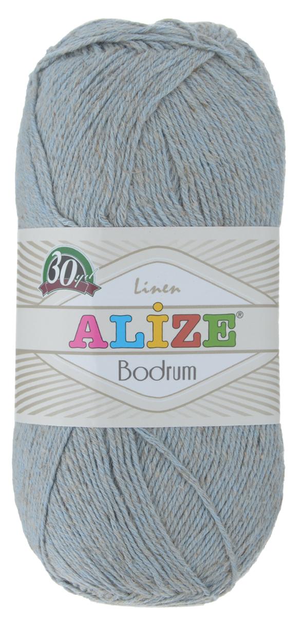 Пряжа для вязания Alize Bodrum, цвет: серо-голубой (480), 280 м, 100 г, 5 шт697547_480Пряжа для вязания Alize Bodrum с натуральной цветовой гаммой подходит для ручного вязания детям и взрослым. Приятная на ощупь нить сочетает в себе лен и полиэстер. Такая пряжа идеально подойдет для вязания весенних и летних изделий. Рекомендованные спицы 3-5 мм и крючок для вязания 2-3 мм. Состав: 48% лен, 52% полиэстер. Рекомендована ручная стирка.