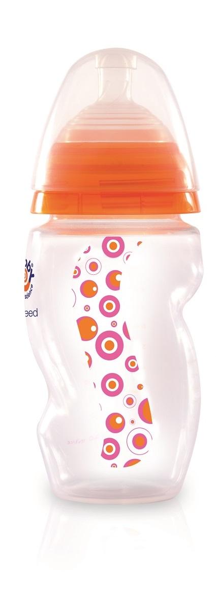Mebby Бутылочка с соской 160 мл цвет розовый