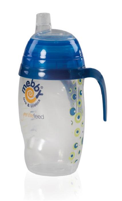Mebby Чашка-поильник для мальчика Made in Italy от 6 месяцев цвет синий
