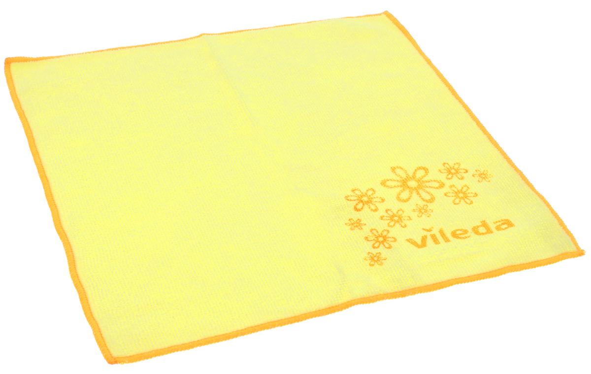 Салфетка универсальная Vileda Микрофибра, цвет: желтый, 32 х 32 см138540_желтыйУниверсальная салфетка Vileda Микрофибра предназначена для сухой и влажной уборки. В сухом виде - для удаления пыли, во влажном - для удаления загрязнений и полировки. Она устраняет жир, грязь без следа и разводов. Изделие используется без чистящих средств. Салфетка имеет абразивный рисунок для безопасного удаления застарелых загрязнений. Размер: 32 см х 32 см.