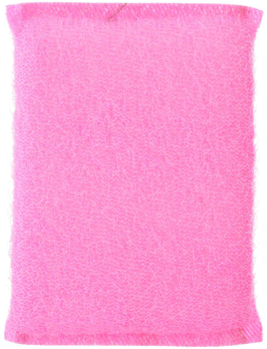 Губка для мытья посуды Home Queen, в ворсистой сетке, цвет: розовый38_розовыйГубка для мытья посуды Home Queen изготовлена из поролона в ворсистой сетке из полипропиленовой металлизированной нити. Предназначена для мытья посуды и кухонных поверхностей. Удобна в применении. Позволяет экономить моющее средство, благодаря структуре поролона, который дает много пены при использовании. Материал: полипропиленовая металлизированная нить, поролон. Размер губки: 12 см х 9 см х 2 см.