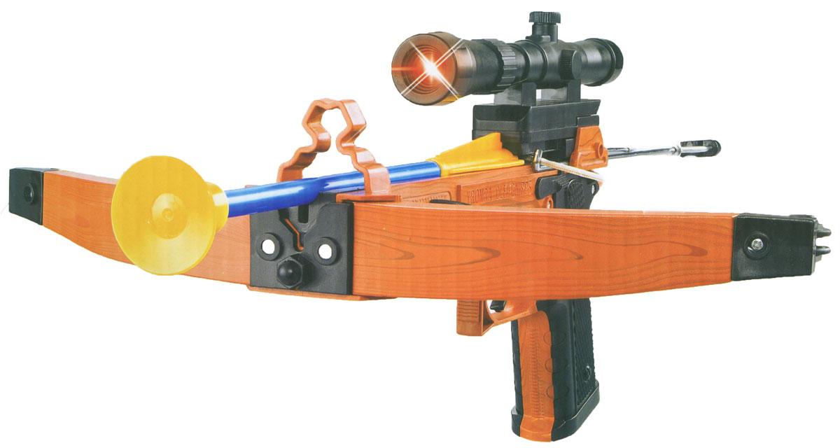 Zhorya АрбалетХ75607Игрушечный арбалет Zhorya - оружие, с которым малыш почувствует себя настоящим стрелком. Сама стрельба производится стрелами с присосками, что делает игровой процесс более реалистичным и веселым. В качестве мишени можно использовать простые картонные листы с нарисованной целью, это поможет грамотно выработать умение стрельбы. Кроме того, оружие выглядит невероятно реалистично. В комплект с арбалетом входит пластиковая мишень, 3 стрелы с держателем.