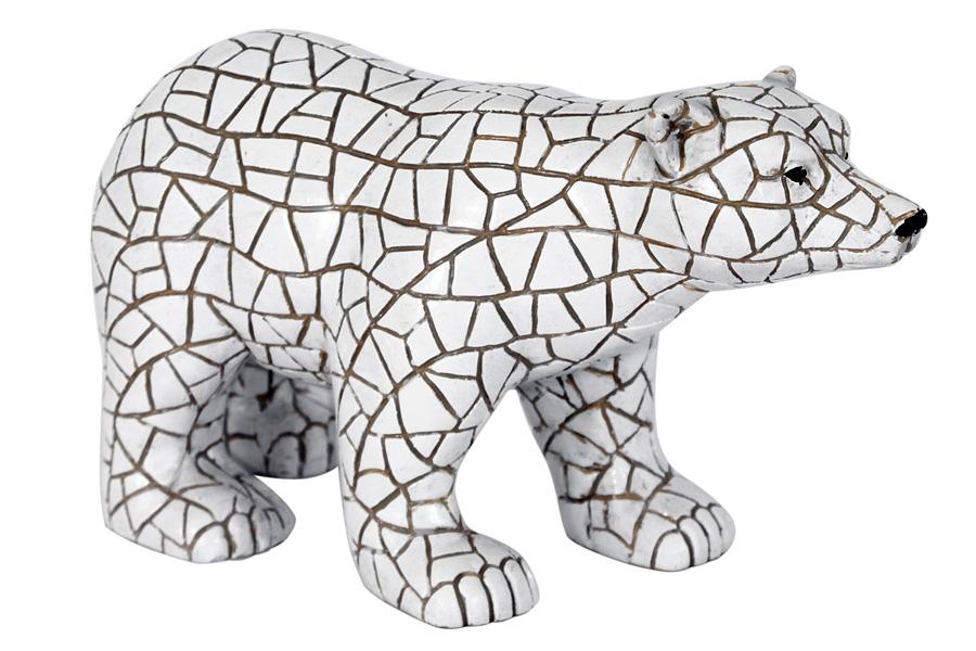 Статуэтка Barcino Полярный медведь, высота 11 смBAR35767ALДекоративная статуэтка Barcino Полярный медведь, изготовленная из высококачественного полистоуна, прекрасно дополнит интерьер офиса или дома. Вы можете поставить ее в любом месте, где она будет удачно смотреться и радовать глаз. Высота статуэтки: 11 см.
