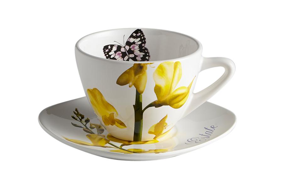 Чашка с блюдцем Лето. CV2-4304-AL