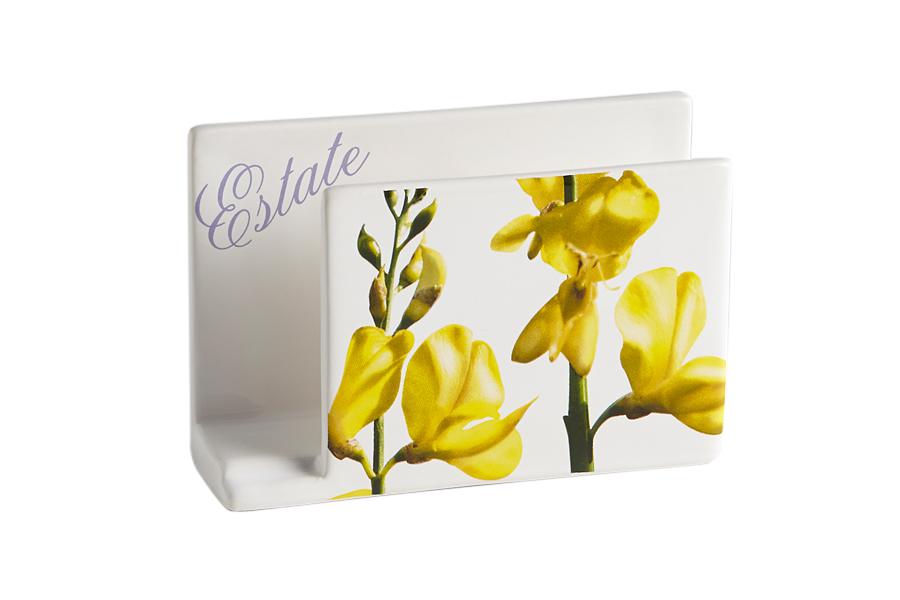 Салфетница Лето. CV2-43161-ALCV2-43161-ALКерамическая посуда итальянской фабрики «Ceramiche Viva» известна не только своим превосходным качеством, но и удивительными, неповторимыми дизайнами, отличающими ее от любой другой керамической посуды.Помимо внешней привлекательности посуда «Ceramiche Viva» обладает и прекрасными практическими свойствами: посуду «Ceramiche Viva» можно мыть в посудомоечной машине и использовать в микроволновой печи. Не разрешается применять при мытье посуды абразивные порошки. Поверхность изделий покрыта высококачественной глазурью, не содержащей свинца.