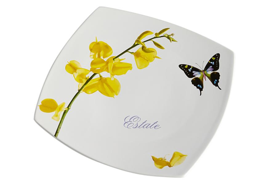 Тарелка обеденная Лето. CV2-4348-ALCV2-4348-ALКерамическая посуда итальянской фабрики «Ceramiche Viva» известна не только своим превосходным качеством, но и удивительными, неповторимыми дизайнами, отличающими ее от любой другой керамической посуды.Помимо внешней привлекательности посуда «Ceramiche Viva» обладает и прекрасными практическими свойствами: посуду «Ceramiche Viva» можно мыть в посудомоечной машине и использовать в микроволновой печи. Не разрешается применять при мытье посуды абразивные порошки. Поверхность изделий покрыта высококачественной глазурью, не содержащей свинца.