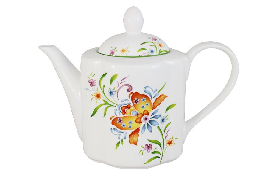 Чайник заварочный Imari Аквитания, 1 лIMA0018AB-DA2099ALЗаварочный чайник Imari Аквитания, изготовленный из высококачественной керамики, оформлен изящным изображением цветов. Изделие придется по вкусу и ценителям классики, и тем, кто предпочитает утонченность и изысканность. Заварочный чайник Imari Аквитания украсит интерьер любой кухни.
