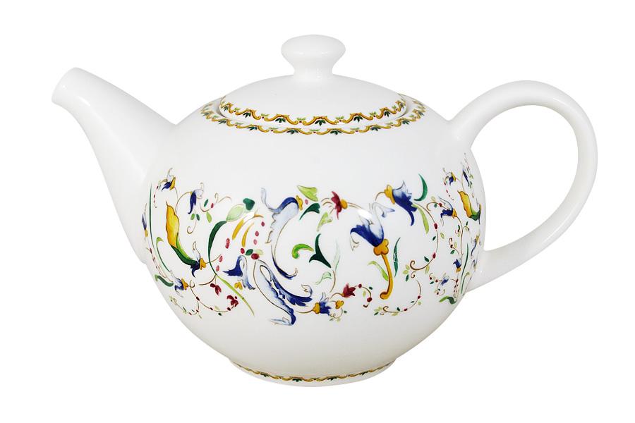 Чайник заварочный Imari Шампань, 1,2 лIMA0131AB-A2055ALЗаварочный чайник Imari Шампань изготовлен из высококачественной керамики и покрыт сверкающей глазурью, не содержащей свинца. Изделие оформлено изящным изображением цветов и оснащено крышкой. Заварочный чайник Imari Шампань придется по вкусу и ценителям классики, и тем, кто предпочитает утонченность и изысканность. Можно мыть в посудомоечной машине.