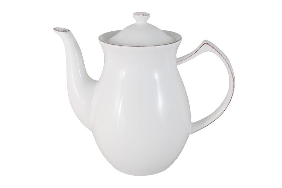 Чайник заварочный Imari Винтаж, 1,35 лIMA0309A-DH157ALЗаварочный чайник Imari Винтаж изготовлен из высококачественной керамики, основным ингредиентом которой является твердый доломит. Поэтому посуда легкая, белоснежная, прочная и устойчива к высоким температурам. Нанесение сверкающей глазури, не содержащей свинца, придает изделию превосходный блеск и особую прочность. Изделие выполнено в классическом однотонном дизайне и декорировано эмалью. Такой чайник прекрасно подойдет для сервировки стола и станет незаменимым атрибутом чаепития. Можно мыть в посудомоечных машинах.