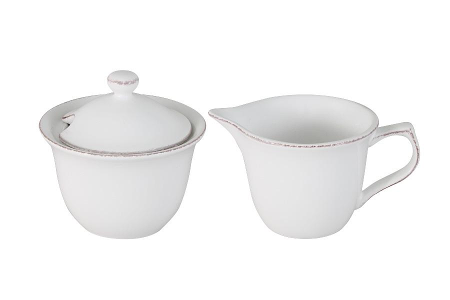 Набор Imari Винтаж: сахарница, молочникIMA0309BC-DH157ALНабор Imari Винтаж, состоящий из сахарницы с крышкой и молочника, выполнен из высококачественной глазурованной керамики. Изделия, оформленные в классическом стиле, имеют изысканный внешний вид. Такой набор прекрасно подойдет для сервировки стола и станет незаменимым атрибутом чаепития. Объем молочника: 175 мл. Объем сахарницы: 225 мл.