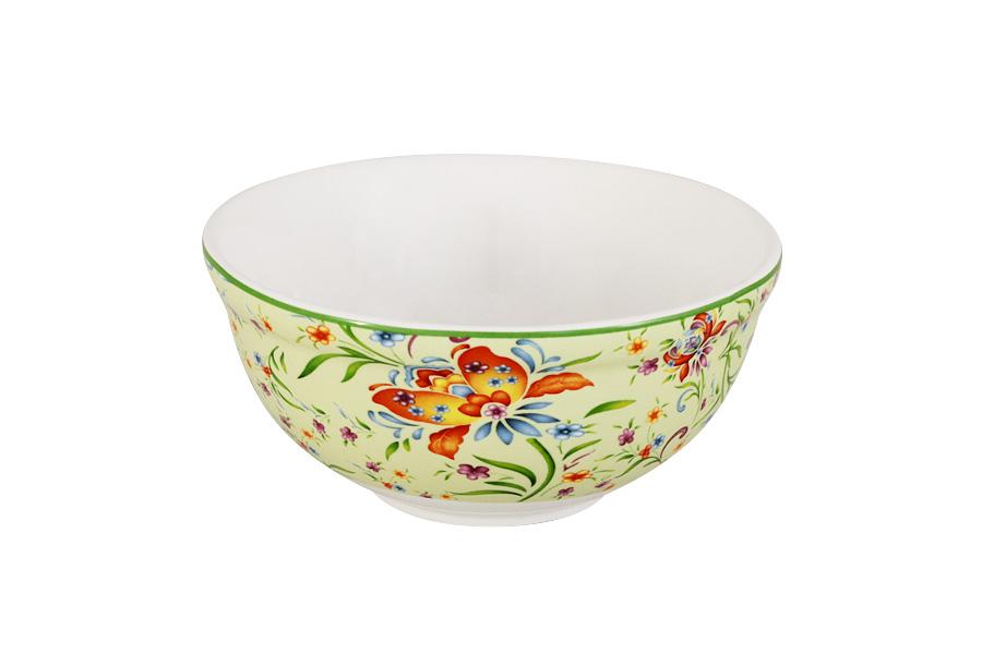 Салатник Imari Аквитания, диаметр 13 смIMD0018-DA2099GRALКруглый салатник Imari Аквитания, изготовленный из высококачественной глазурованной керамики, оформлен яркими цветочными изображениями. Такой салатник прекрасно подойдет для подачи салатов, закусок и других блюд. Он изысканно украсит сервировку как обеденного, так и праздничного стола. Диаметр салатника (по верхнему краю): 13 см.