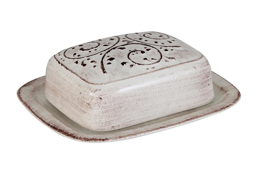 Масленка LCS МедичиLCS874B-ME-ALВеликолепная масленка LCS Медичи, выполненная из высококачественной керамики, предназначена для красивой сервировки и хранения масла. Она состоит из подноса и крышки. Масло в ней долго остается свежим, а при хранении в холодильнике не впитывает посторонние запахи. Масленка LCS Овощное ассорти идеально подойдет для сервировки стола и станет отличным подарком к любому празднику. Размер подноса (по верхнему краю): 17 х 15 см.