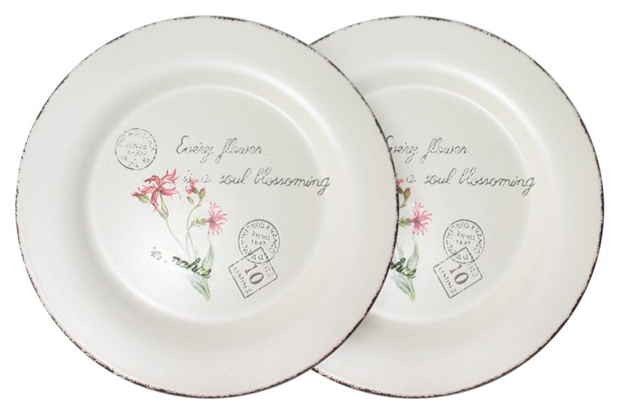 Набор тарелок LF Ceramic Воспоминания, диаметр 25 см, 2 штLF-120E2257-2-ALНабор LF Ceramic Воспоминания, выполненный из высококачественной керамики, состоит из двух тарелок и предназначен для красивой сервировки различных блюд. Набор сочетает в себе изысканный дизайн с максимальной функциональностью. Оригинальность оформления придется по вкусу и ценителям классики, и тем, кто предпочитает современный стиль. Можно использовать в холодильной камере и в микроволновой печи. Можно мыть в посудомоечной машине. Диаметр тарелки: 25 см.