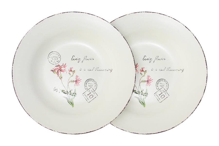 """Набор суповых тарелок LF Ceramic """"Воспоминания"""", диаметр 21 см, 2 шт"""