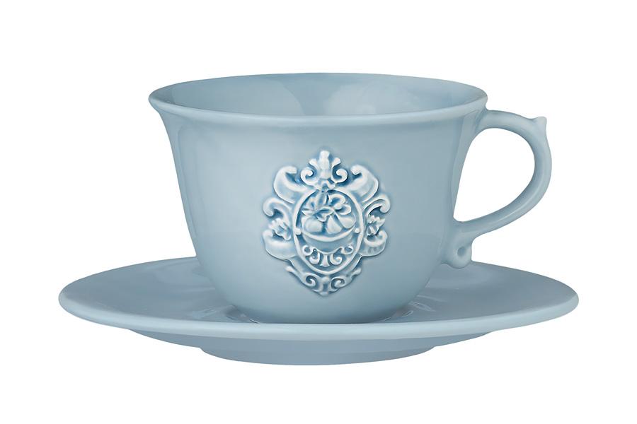 Чашка с блюдцем Аральдо (голубой). NC8303-CRZ-ALNC8303-CRZ-ALДекорам торговой марки Nuova Сer присущи теплые оттенки и верность истинно итальянскому стилю, для которого характерным является довольно толстая, нарочито простая керамическая посуда с красочной, яркой глазурью, с наивной росписью и орнаментами. Ее с легкостью можно подобрать в тон интерьеру кухни. Такую посуду можно использовать в микроволновой печи и мыть в посудомоечной машине.