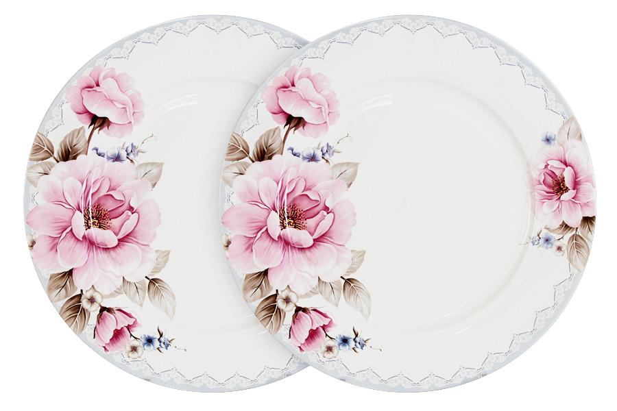 Набор обеденных тарелок Primavera Розовый блюз, диаметр 26,5 см, 2 штPW-NBCP105-112-ALНабор Primavera Розовый блюз состоит из двух обеденных тарелок, изготовленных из костяного фарфора высшего качества, отличающегося необыкновенной прочностью и небольшим весом. Яркий дизайн изделий, несомненно, придется вам по вкусу. Набор Primavera Розовый блюз украсит ваш кухонный стол, а также станет замечательным подарком к любому празднику. Диаметр (по верхнему краю): 26,5 см.