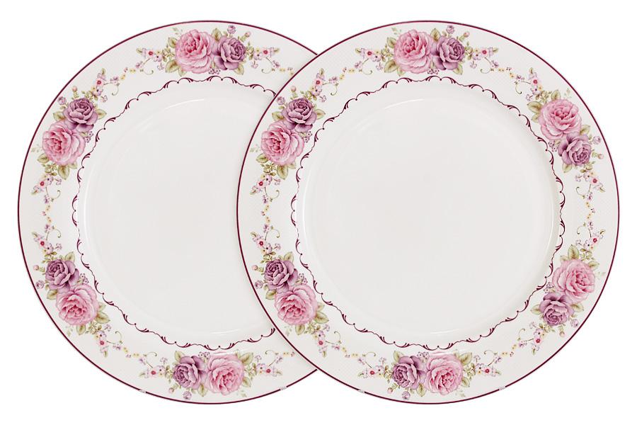 Набор обеденных тарелок Primavera Нежность, диаметр 26,5 см, 2 штPW-NBCP105-388-ALНабор Primavera Нежность состоит из двух обеденных тарелок, изготовленных из костяного фарфора высшего качества, отличающегося необыкновенной прочностью и небольшим весом. Яркий дизайн изделий, несомненно, придется вам по вкусу. Набор Primavera Нежность украсит ваш кухонный стол, а также станет замечательным подарком к любому празднику. Диаметр (по верхнему краю): 26,5 см.