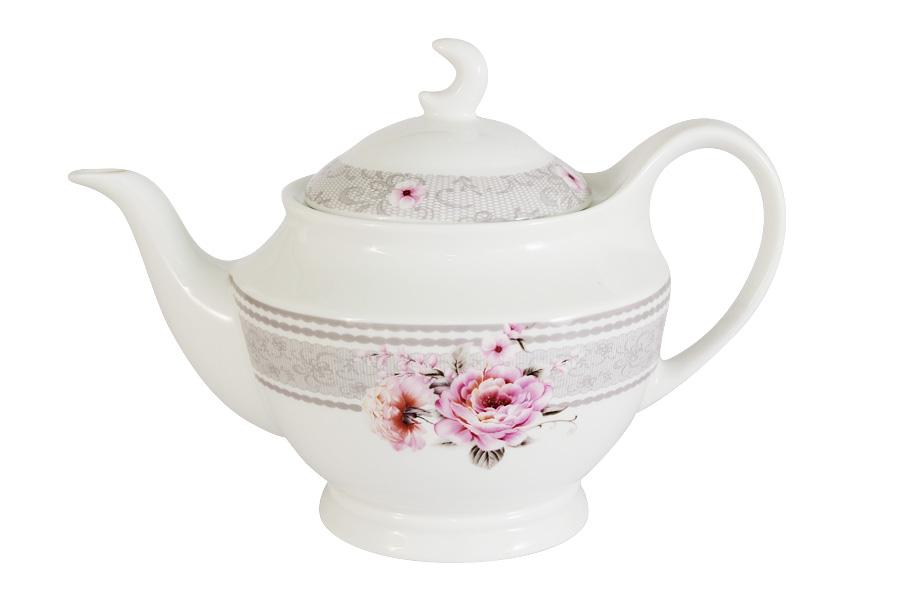 Чайник заварочный Primavera Симфония, 1,2 лPW-YT01-106-ALЗаварочный чайник Primavera Симфония, изготовленный из высококачественного костяного фарфора, декорирован изящным изображением цветов и узоров. Красочность оформления придется по вкусу и ценителям классики, и тем, кто предпочитает утонченность и изысканность. Оригинальный рисунок придает изделию особый шарм, который понравится каждому.