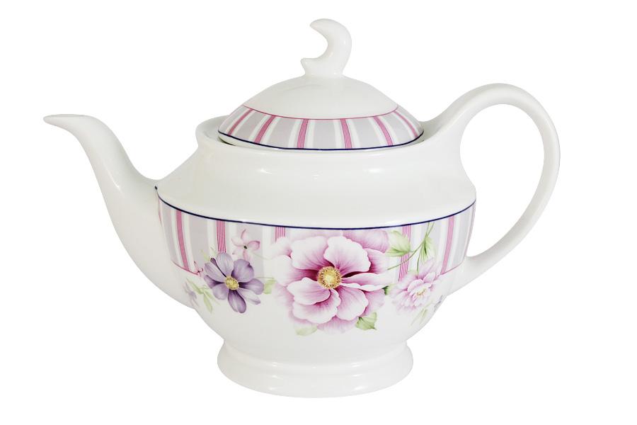 Чайник заварочный Primavera Цветочная феерия, 1,2 лPW-YT01-111-ALЗаварочный чайник Primavera Цветочная феерия, изготовленный из высококачественного костяного фарфора, оформлен изящным изображением цветов. Изделие придется по вкусу и ценителям классики, и тем, кто предпочитает утонченность и изысканность. Заварочный чайник Primavera Цветочная феерия украсит интерьер любой кухни.