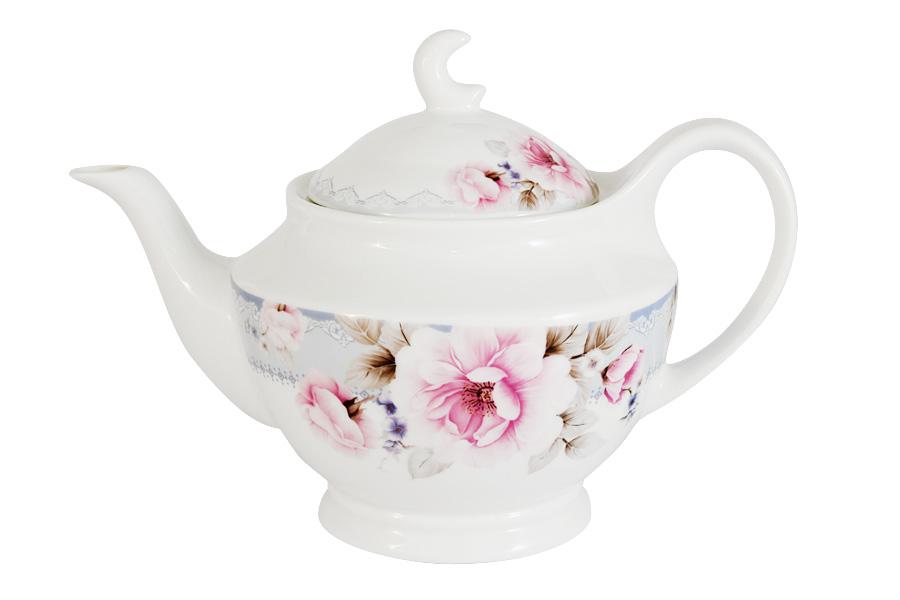 Чайник заварочный Primavera Розовый блюз, 1,2 лPW-YT01-112-ALЗаварочный чайник Primavera Розовый блюз, изготовленный из высококачественного костяного фарфора, оформлен изящным изображением цветов. Изделие придется по вкусу и ценителям классики, и тем, кто предпочитает утонченность и изысканность. Заварочный чайник Primavera Розовый блюз украсит интерьер любой кухни.