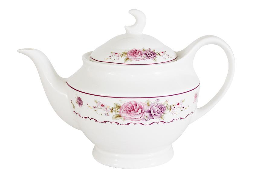 Чайник заварочный Primavera Нежность, 1,2 лPW-YT01-388-ALЗаварочный чайник Primavera Нежность, изготовленный из высококачественного костяного фарфора, оформлен изящным изображением цветов. Изделие придется по вкусу и ценителям классики, и тем, кто предпочитает утонченность и изысканность. Заварочный чайник Primavera Нежность украсит интерьер любой кухни.