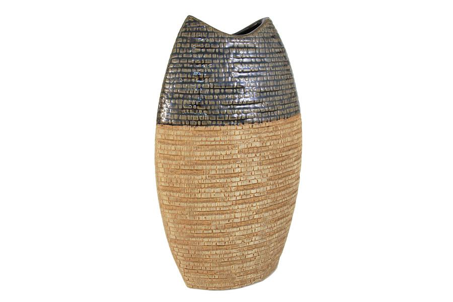 Ваза SDJ Мадагаскар, высота 35 смSDJ-30-601675-3-ALИзящная ваза SDJ Мадагаскар, изготовленная из высококачественной керамики, выполнена в этническом стиле. Она красиво переливается и излучает приятный блеск. Изделие имеет оригинальную форму, что делает ее изящным украшением интерьера. Ваза SDJ Мадагаскар дополнит интерьер офиса или дома и станет желанным и стильным подарком. Высота вазы: 35 см.