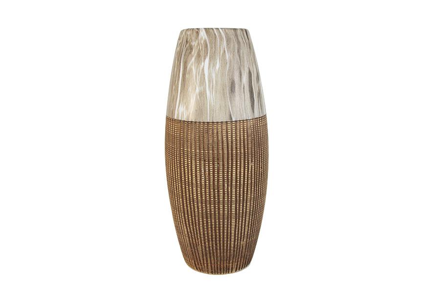 Декоративная ваза 33см