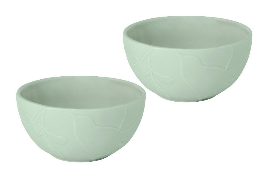 Набор салатников SantaFe Птицы, 2 штSL-SB15107gr-ALНабор SantaFe Птицы состоит из 2 салатников. Изделия, изготовленные из высококачественной керамики, сочетают в себе изысканный дизайн с максимальной функциональностью. Они идеально подходят для сервировки стола и подачи закусок, солений и других блюд. Такие салатники прекрасно впишутся в интерьер вашей кухни и станут достойным дополнением к кухонному инвентарю. Диаметр салатника (по верхнему краю): 14 см.