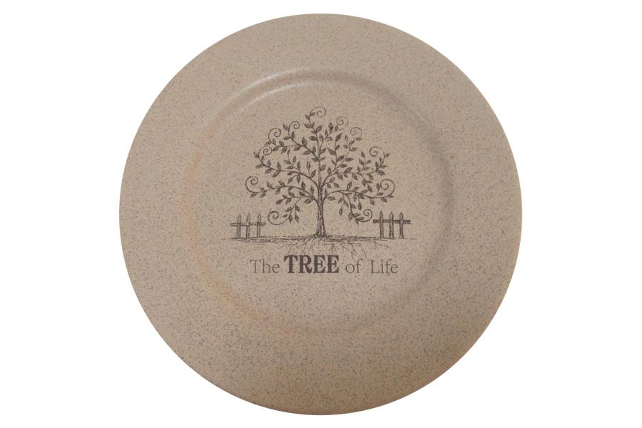 Тарелка обеденная Terracotta Дерево жизни, диаметр 26 смTLY802-1-TL-ALОбеденная тарелка Terracotta Дерево жизни, изготовленная из высококачественной керамики, предназначена для красивой сервировки блюд. Изделие оформлено оригинальным изображением и имеет изысканный внешний вид. Прекрасный дизайн тарелки идеально подойдет для сервировки праздничного или обеденного стола. Диаметр тарелки (по верхнему краю): 26 см.