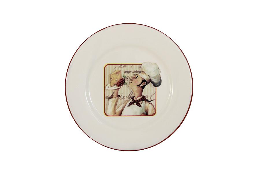 Тарелка закусочная Шеф-повар. TLY802-2-CHEF-ALTLY802-2-CHEF-ALДостоинства керамической посуды, известные во всем мире: отсутствие выделений химических примесей, равномерный нагрев и долгое сохранение температуры позволяют придавать особый аромат пище, сохранять витамины и другие ценные питательные вещества. Изделия Terracotta идеально подходят для выпечки, приготовления различных блюд и разогревания пищи в духовом шкафу или микроволновой печи. Могут использоваться для хранения продуктов, в том числе в холодильнике. Мыть керамическую посуду рекомендуется теплой водой с небольшим количеством моющих средств. Лучше не использовать абразивные пасты и металлические мочалки. Допускается мытье в посудомоечной машине при соблюдении инструкции изготовителя посудомоечной машины. Посуда требует осторожности: защиты от сильного удара или падения. В наборах и отдельных предметах используются и другие виды материалов, вышеуказанные рекомендации применимы только к керамическим изделиям. Посуда торговой марки Terracotta совмещает в себе современные технологии...
