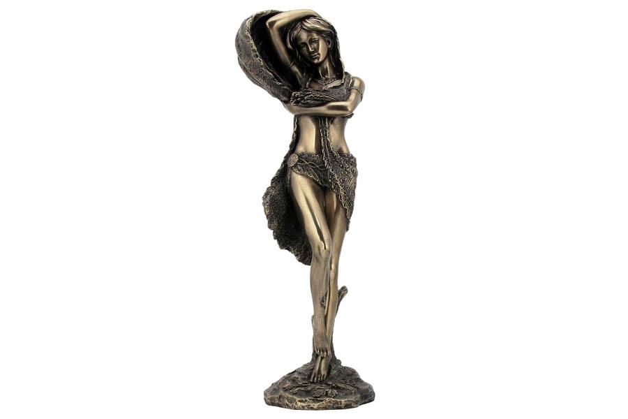 Статуэтка Дух природы. VWUGN09477A1ALVWUGN09477A1ALVeronese - это торговая марка, представляющая широкий ассортимент художественных изделий из полистоуна, выполненных по эскизам итальянских дизайнеров и художников. Полистоун представляет собой специальную массу с полимерными связующими материалами, которые абсолютно не токсичны.