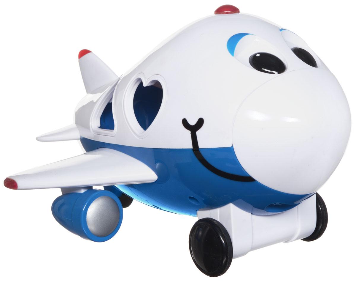 Learning Journey Игрушка на радиоуправлении Умный самолетик890240Развивающая игрушка Learning Journey Умный самолетик - это многофункциональное устройство на дистанционном управлении, которое обязательно понравится вашему малышу. Самолетик может работать в 3-х режимах - как сортер, как развивающая и как дистанционно управляемая игрушка. Малыш познакомится с геометрическими фигурами и цветами, разовьет свои логические и моторные навыки. Самолетик издает забавные звуки и проигрывает веселые мелодии, его колесики вращаются, а огонек на макушке загорается. Движение вперед и назад, функция автоматического выключения, удобный отсек для хранения фигурок. В комплекте: вертолетик, пульт управления, 4 фигурки. Игрушка разработана для детей от полутора лет. Для работы игрушки необходимы 3 батарейки типа АА (не входят в комплект). Для работы пульта управления необходимы 2 батарейки типа АА (не входят в комплект).