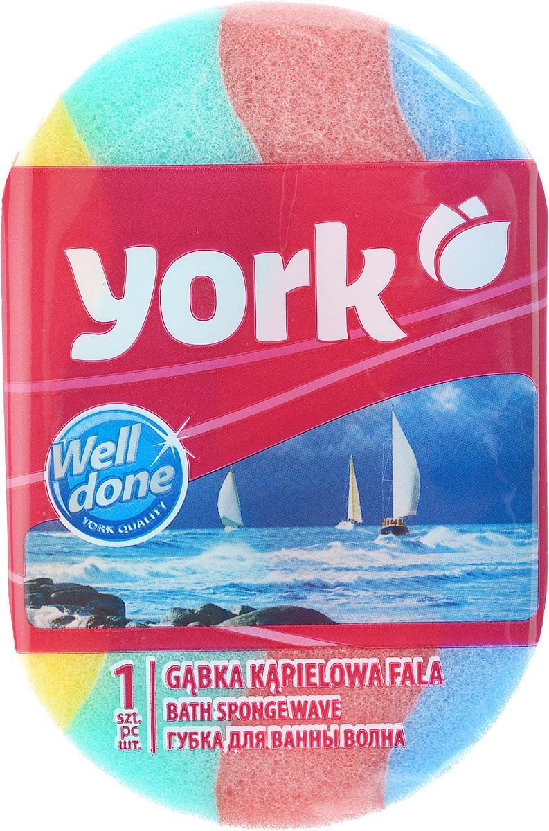 Губка для тела York, массажная, цвет: голубой, желтый, зеленый, 14 см х 9,5 см х 5 см1401Губка для тела York изготовлена из мягкого экологически чистого полимера. Пористая структура губки создает воздушную пену даже при небольшом количестве геля для душа. Эффективно очищает и массирует кожу, улучшая кровообращение и повышая тонус.
